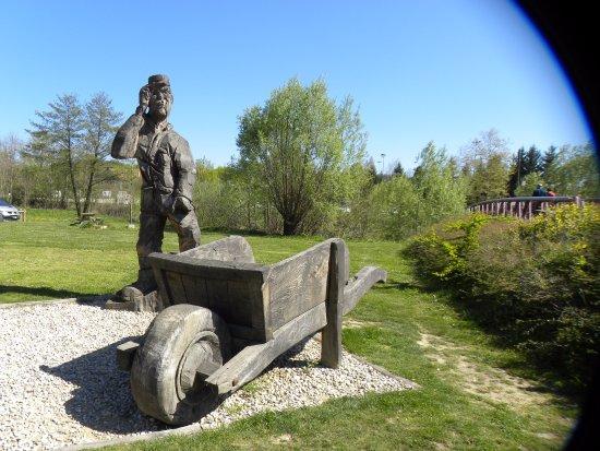 Hauterives, France : le Facteur Cheval