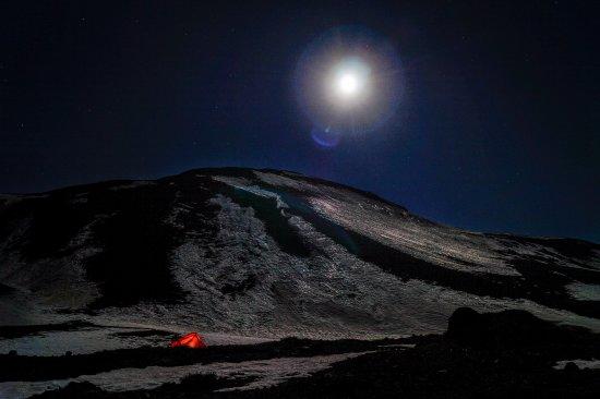 Santiago Metropolitan Region, Chile: Y si hay luna es aún mejor, se puede caminar por las montañas sin ningún problema y sin linterna