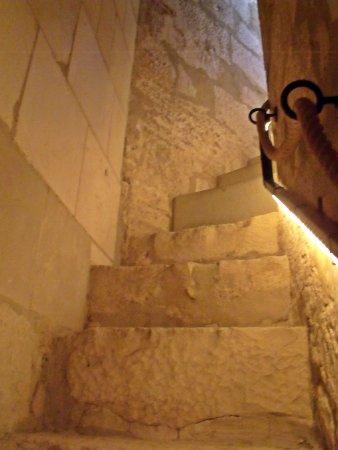 Lucena, إسبانيا: Escaleras estrechas