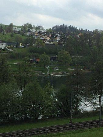 Ebikon, سويسرا: Rotsee bei Luzern