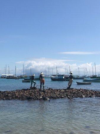 Бузиос: Escultura Os Três Pescadores
