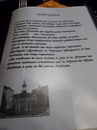 Coutras, France: Un peu d'histoire.