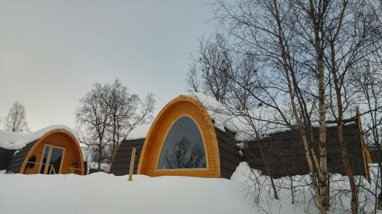 Gamme cabin picture of kirkenes snow hotel kirkenes for Kirkenes snow hotel gamme cabins