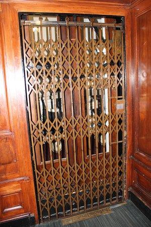 Union Club British Columbia: Historic Elevator