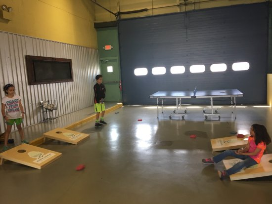 Camp Hill, PA: Corn hole game & ping pong!