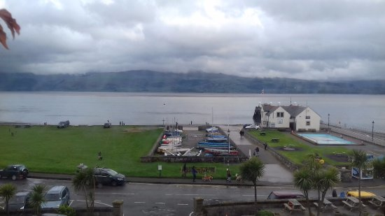 The Bulkeley Hotel: Sea view