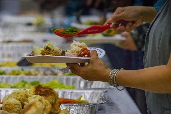 Inuvik, Canadá: food at the jamboree