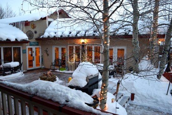 Frisco, CO: Lindo local, muita, muita neve!