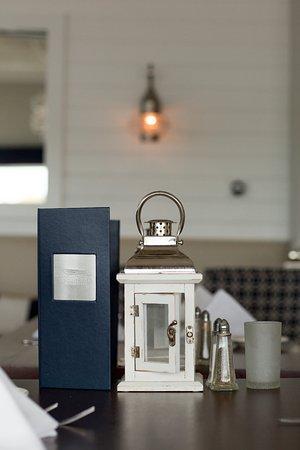 Portsmouth, RI: Lantern on table