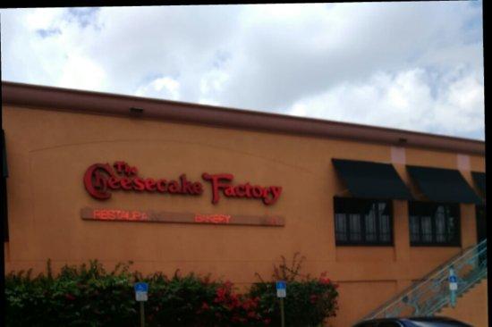 Cheese Cake Factory Boca Raton Florida