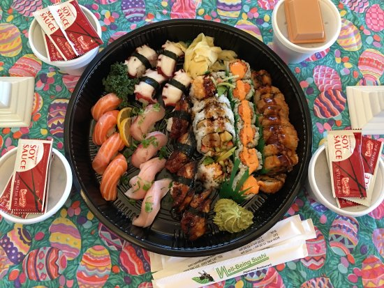 Well being sushi dumont menu prices restaurant for Domont restaurant