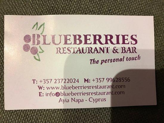 Blueberries Restaurant and Bar: photo0.jpg