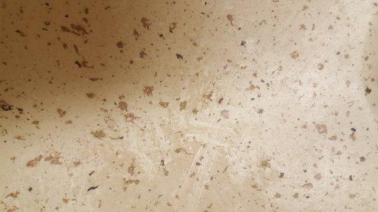 Брукфилд, Висконсин: Soap scum that was on the bathroom sink