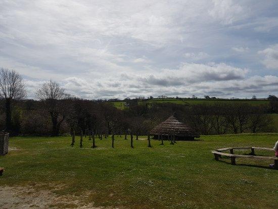 Crymych, UK: Visit to Castell Henlly