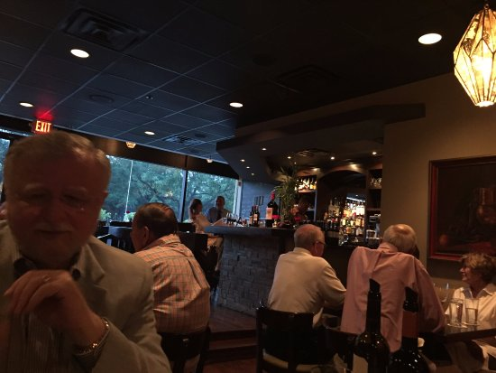 Bellaire, TX: A view of the bar and the dining area