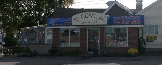 New Bedford, Массачусетс: Cove Surf and Turf