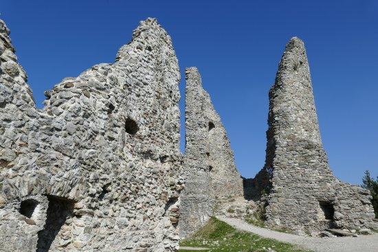 Eisenberg, Germany: Inside Castle Hohenfreyberg