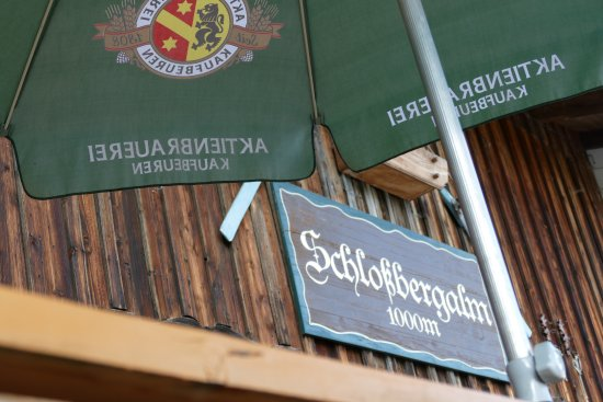 Eisenberg, Germany: A stop at the Schlossbergalm
