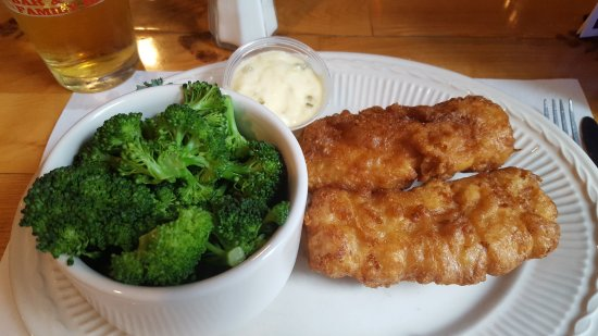 Spooner, WI : Friday Fish Fry with Steamed Broccoli