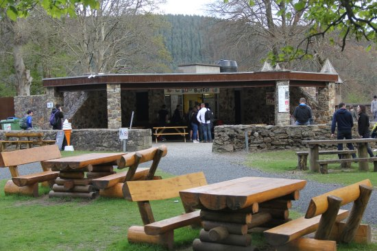 Enniskerry, İrlanda: Lots of picnic tables (about 25 total)