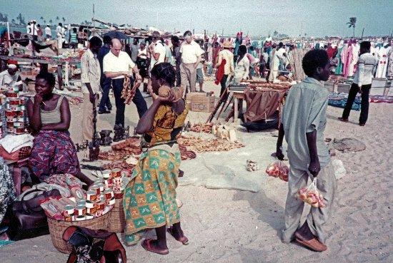Elegushi Beach Bar Sunday Market Victoria Island Lagos Nigeria