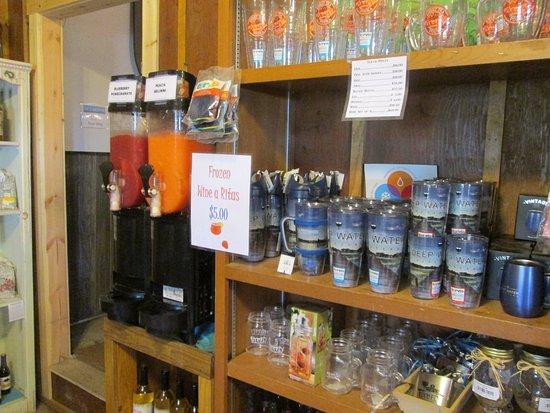 Wadmalaw Island, Νότια Καρολίνα: Gift shop