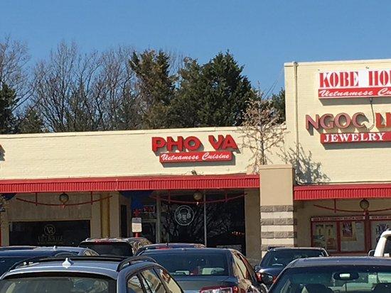 Falls Church, VA: Location of Pho Va within the Eden Center