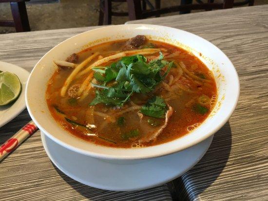 Falls Church, VA: Spicy Beef Pho