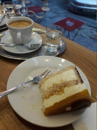 Great coffee and cake