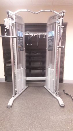 Exercise room: Precor Glide Functioning System (Multi