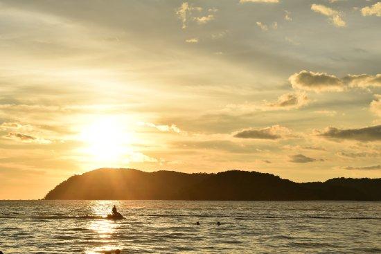 Malibest Resort: Sunset at Pantai Cenang