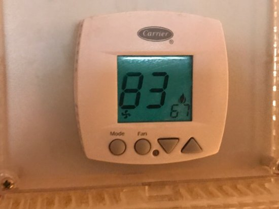 Dedham, MA: Thermostat on the 3rd floor