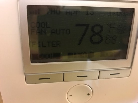 Dedham, MA: My room's thermostat
