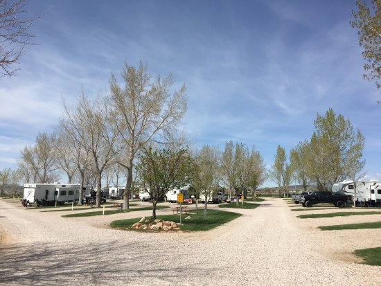 Fillmore, UT: RV park in the middle of April