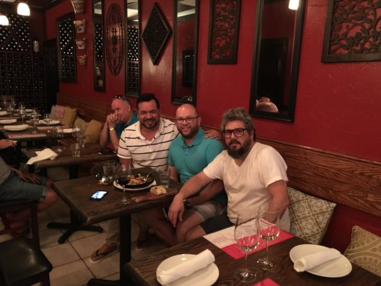 Wilton Manors, Floryda: One day in candela restaurant