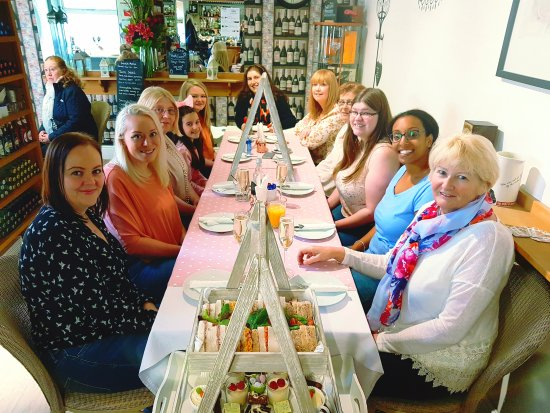Lotties Coffee Wine Bar Absolutely Lovely Las Enjoying Their Afternoon Tea Hen Party Today