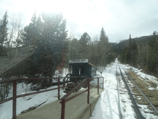 Manitou Springs, CO: Picked up a hiker at Mountain View depot elev 10,012 ft.