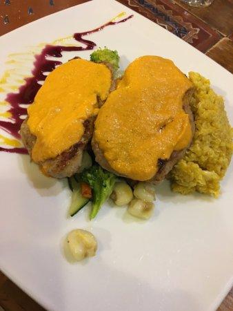 La Casona Restaurant: Alpaca with quinoa