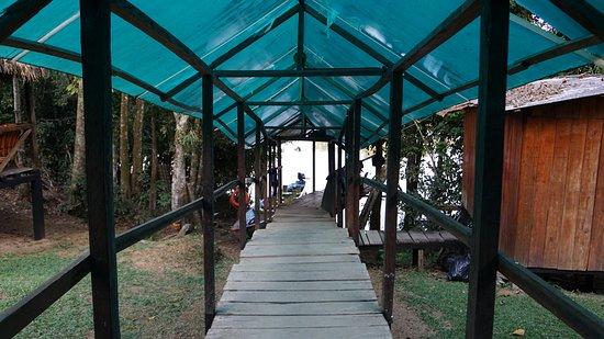 Siona Lodge: Lodge