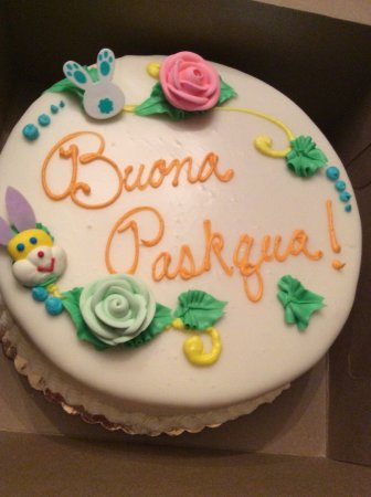 Yonkers, Estado de Nueva York: Not how to spell Happy Easter in Italian so terrible! Angry!