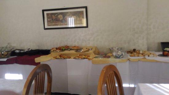 Salles Hotel: área de café da manhã