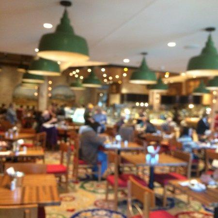Waterloo, NY: Buffet area