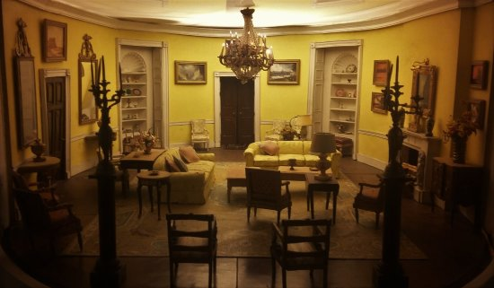 Presidents Hall of Fame: interior of White House