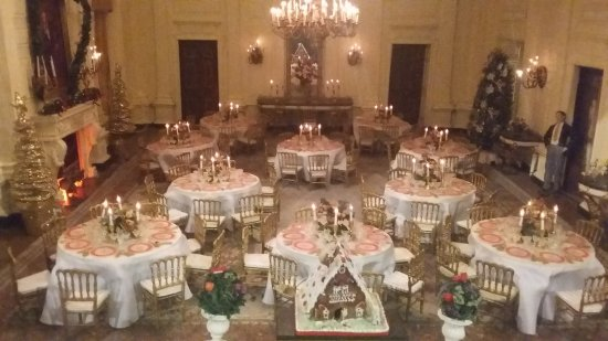 Presidents Hall of Fame: White House dining room