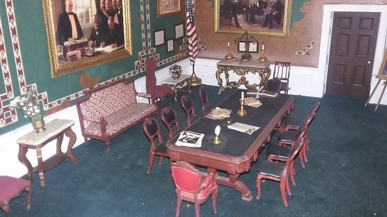 Presidents Hall of Fame: Lincoln's War Room