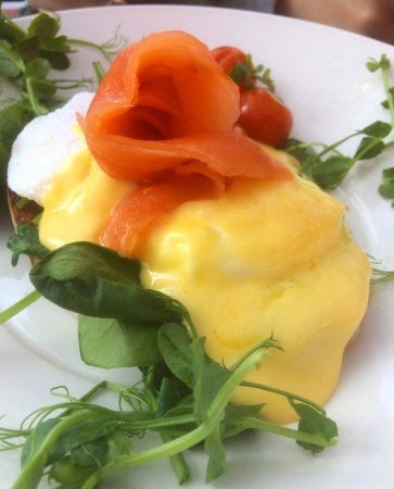 Thyme Out: Eggs benedict's with salmon
