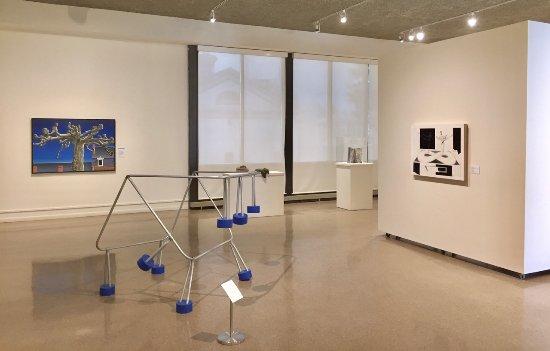 Auburn, NY: Main gallery looking North—Made In NY show