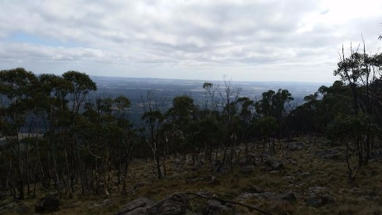 View from Mount Macedon lookout