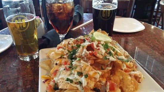 Gordon Biersch Brewery Restaurant : Southwest Nachos