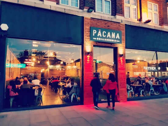 Ilford, UK: The lights are on at PACANA!